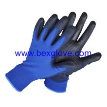 Doublure en polyester à 13 épaisseurs, style U3, gant en caoutchouc PU