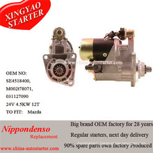 Gear Reduction Car Parts Mazda SL Ha TM TF Starter Motor Se0118400d