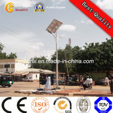 Anti-Rust Paint Street Road Solar LED iluminación poste