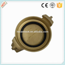 Forging Brass Tankwagon coupling DIN 28450 MB with good quality