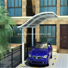 European Style Single Aluminum Carport