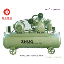 Esticar o filme que faz a máquina Compressor de ar
