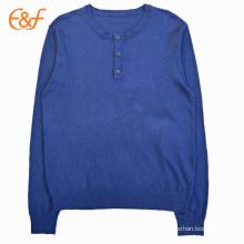 Sweater Design de lã Cool Sweaters elegantes para homens