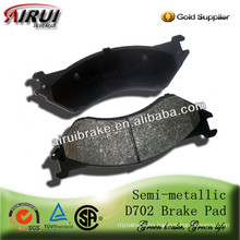 D702 High quality brake pad for Lincoln (OE NO.:5080556AA )