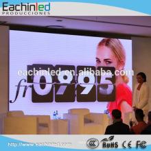 Mur visuel polychrome d'intérieur de LED de l'écran P3.9 HD de location de LED