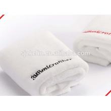 toalla de sauna 100% algodón absorbente blanca lisa