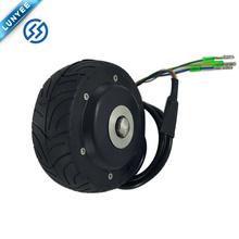 "4"" Eletric Brushless Wheel Hub Motor Small For Skateboard"