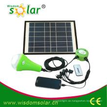 Netzunabhängige Mini Solar Beleuchtung System für Haushalt, Heim Solarleuchten