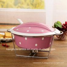 Ustensiles de cuisson en céramique (set) en grès