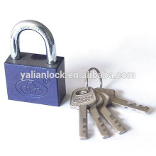 square shape disc mechanism padlock