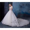 Alibaba al por mayor hombro vestido de novia vestido de novia HA565