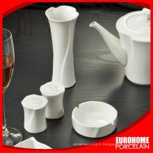 en vrac acheter de dîner blanc gros de Chine mis en céramique