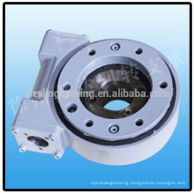 high precision Slewing drive IP65 class slewing drive worm gear small slew drive