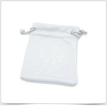 Double-Side Drawstring Microfiber Jewelry Pouch