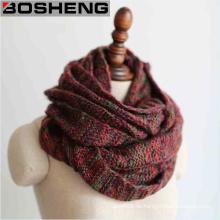Mix Farbe Warm Winter Modische Frauen Hals Wrap Infinity Schals