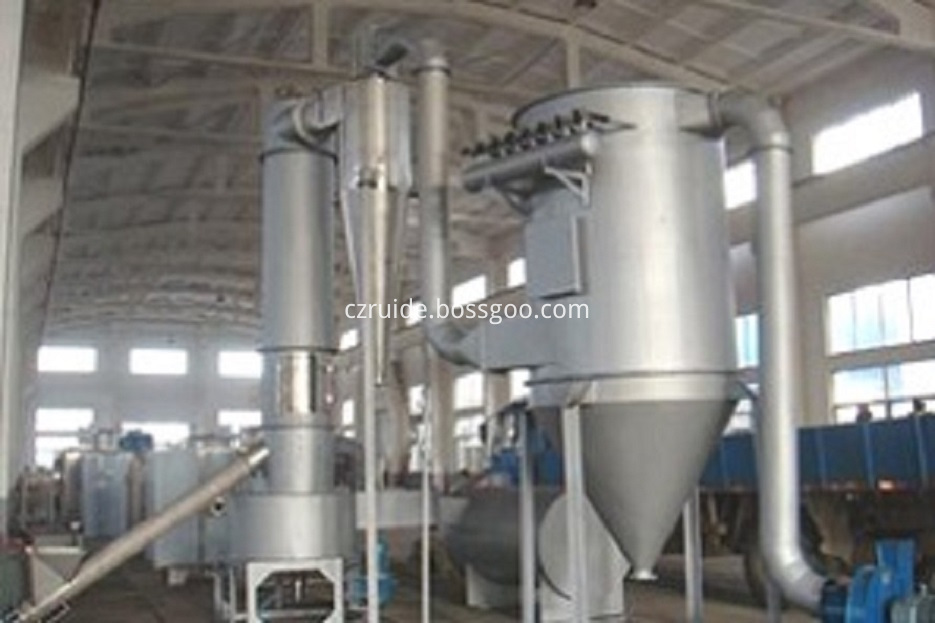 spin flash drying machine
