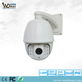 H.265 20X Hoge snelheid Dome PTZ IP Camera