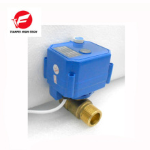 CR01 ss304 brass CWX-25S 5v electric valve