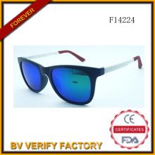 F14224 Hotselling pliage des échantillons gratuits de lunettes de soleil
