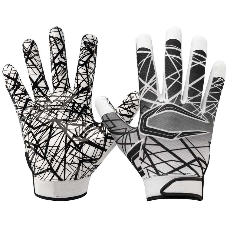 Silicone Grip Receiver Gloves