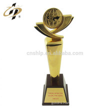 Professional Cheap different shape UAE metal challenge champion world sports gold trophy cup