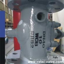 A105 / F304 / F316 ummanteltes Steckerventil
