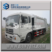 10m3 Compressed Garbage Truck, Garbage Compactor Truck