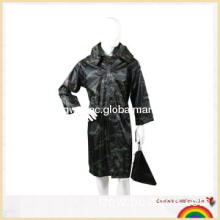 Qiaowei new military nylon PVC raincoat