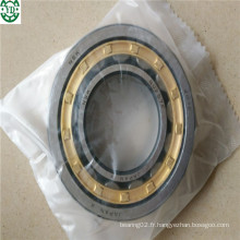 Roulement à rouleaux cylindrique en laiton de cage Nu Nu207em NSK Japon