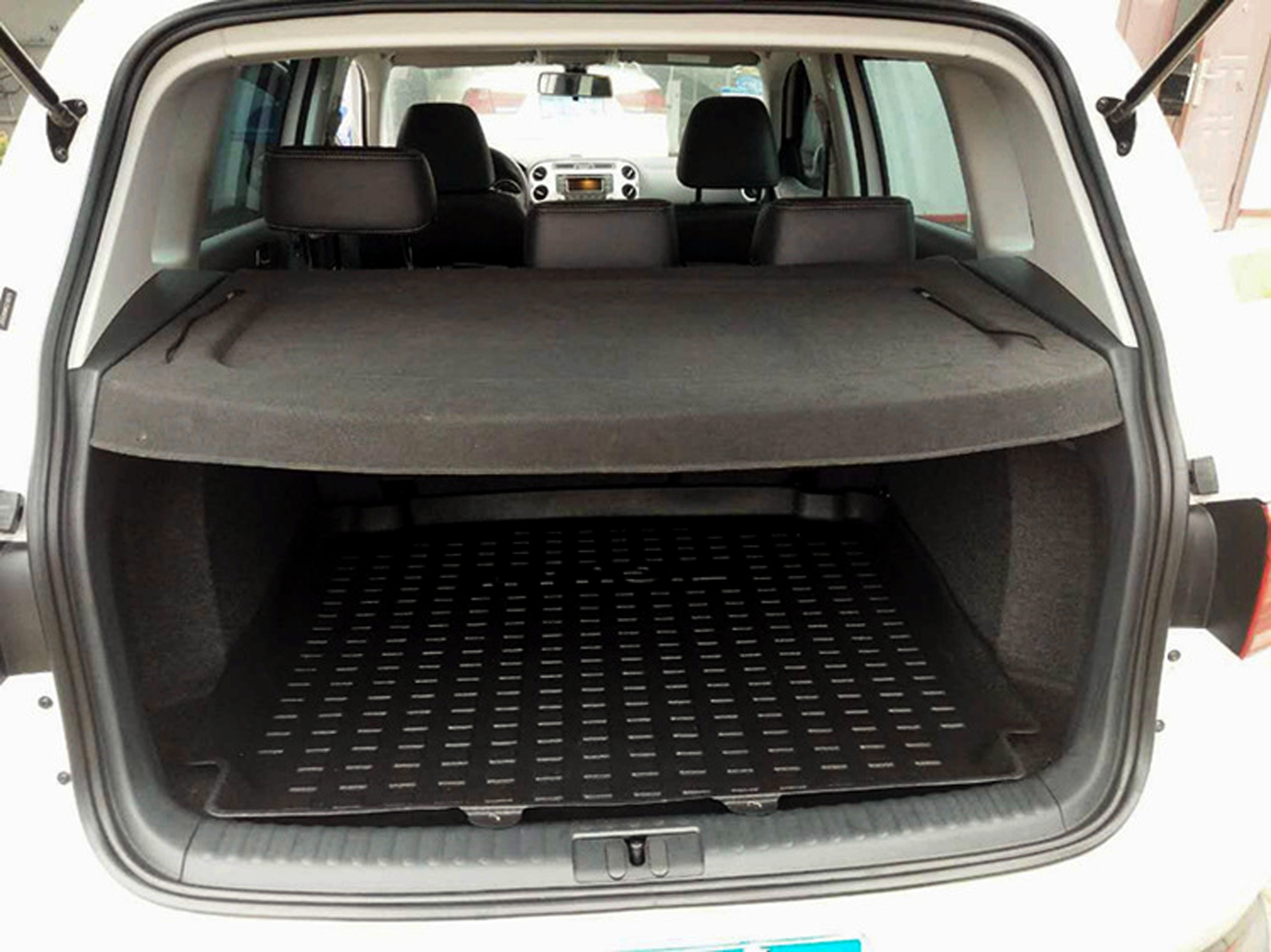 Rear Cargo Parcel Tray Trim Cover