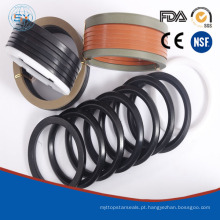 Normalmente, embalagens de malha V são usadas para aplicações de alta pressão