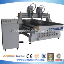 ELE- 1530 - 4A 4 axis rotary wood carving cnc router for sale