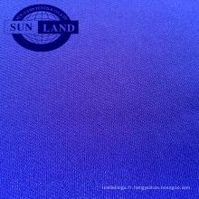 Tissu interlock PK 100% polyester de trame de polyester en 265GSM
