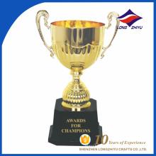 Troféu personalizado do copo de prêmio do troféu de personalidade