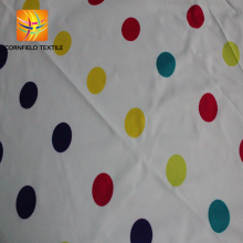 classic minky polka dot waterproof tent fabric