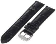 Praktische Black Alligator graan leer armbanden