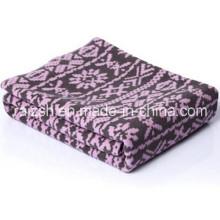 Snowflake Fleece Blanket Gift Blanket for Wholesale