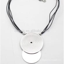 Cheap Presentes promocionais Silver Metal Gourd Pendant