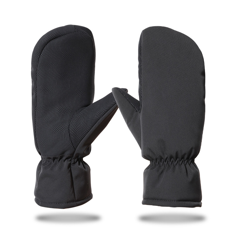 Black contracted Gloves