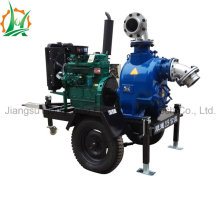 Portable Diesel Engine Self Priming Sewage Pump