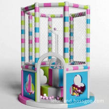 Advanced indoor soft playground equipment, attractive design