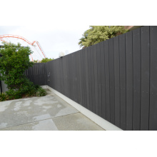 Paneles de pared del patio trasero del hogar Uso exterior del WPC Revestimiento de Huasu WPC