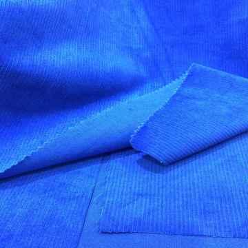 Liefern Sie schnelles Spandex-Ausdehnungs-Baumwollcord-Gewebe von 23 Wales