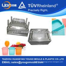 Molde de caja de diseño y fabricación / envase de alimentos molde de plástico parte / alimentos sellados pueden moldear