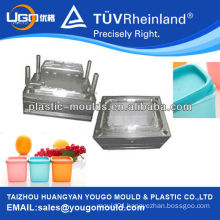 box mould design and manufacture/food container plastic part mould/food sealed can mould