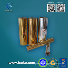 Glossy Gold Metalized Pet Thermal Laminating Film