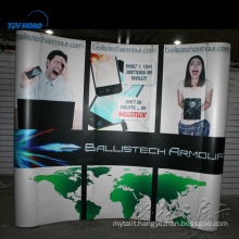 Aluminium exhibition stand backdrop design fabric tension pop up