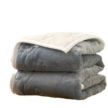 Cobertor de linha aérea edredom de lã de poliéster descartável regular