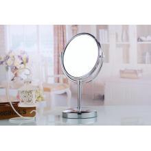 Jogo do presente para o espelho cosmético oval da tabela da vaidade das mulheres