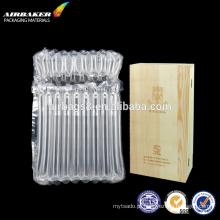 Airbag de coluna para vinho com shakeproof proteção